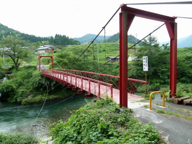 坂内坂本の吊橋4