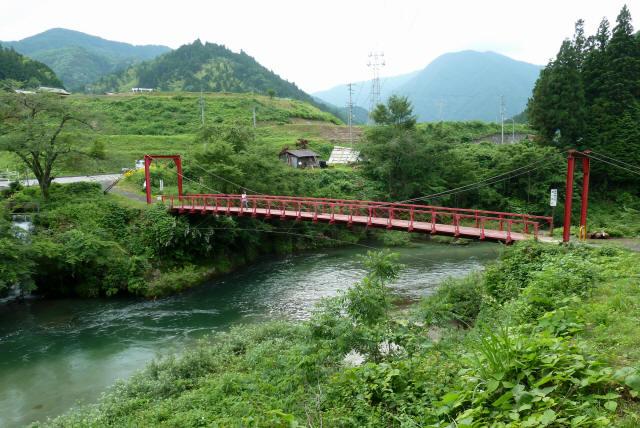坂内坂本の吊橋3
