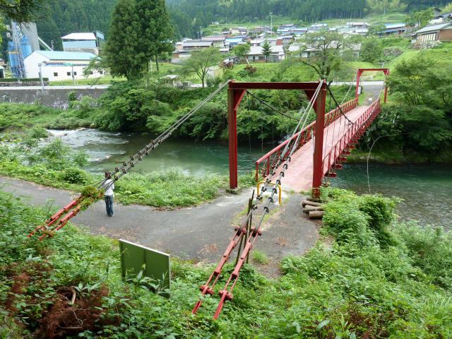 坂内坂本の吊橋2