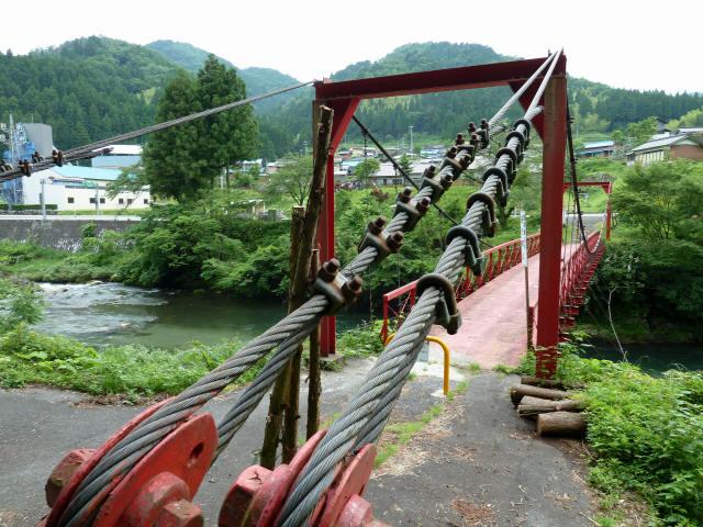 坂内坂本の吊橋1