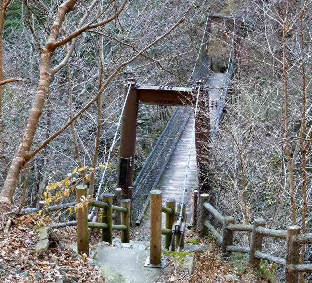 留春の滝吊橋7