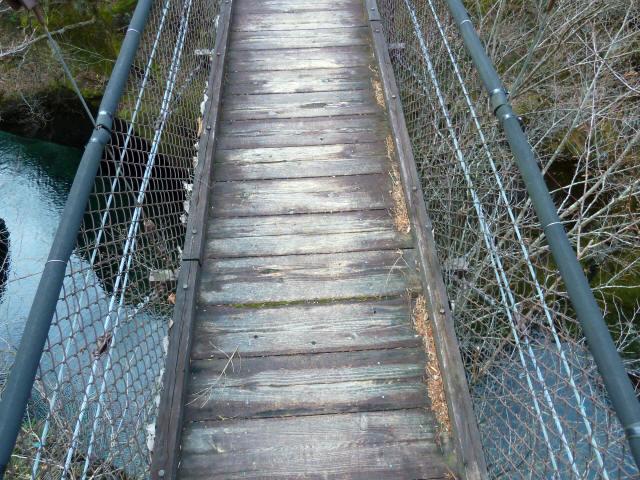 留春の滝吊橋5