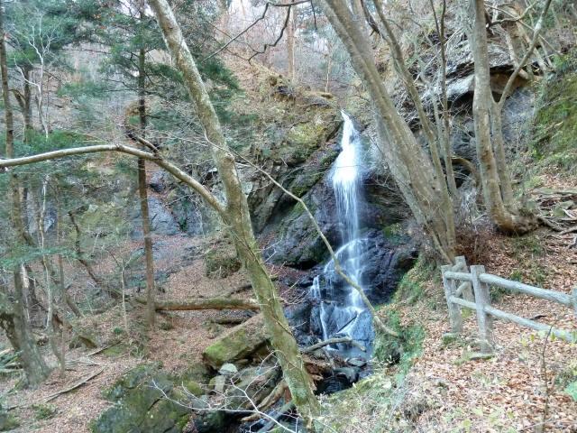 留春の滝吊橋2