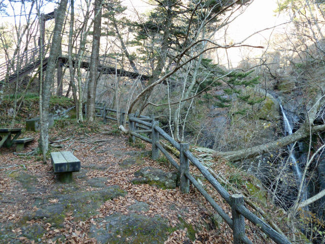 留春の滝吊橋8