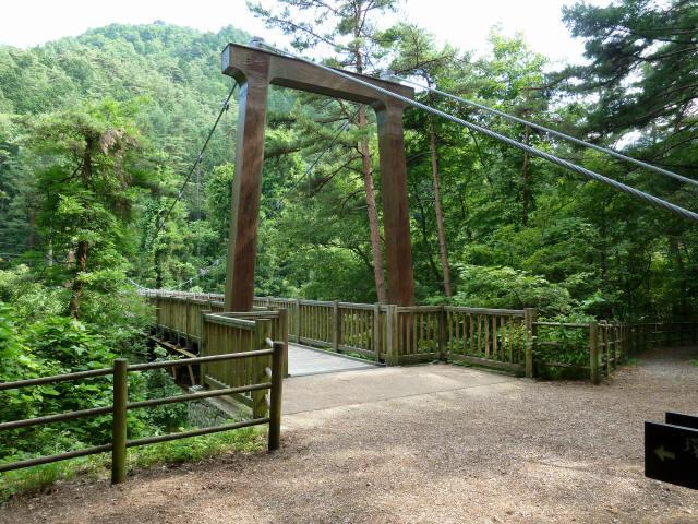 鳥川渓谷橋10