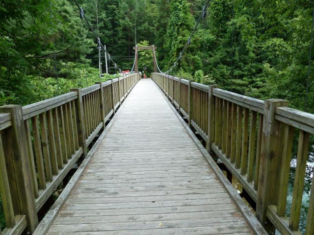 鳥川渓谷橋6