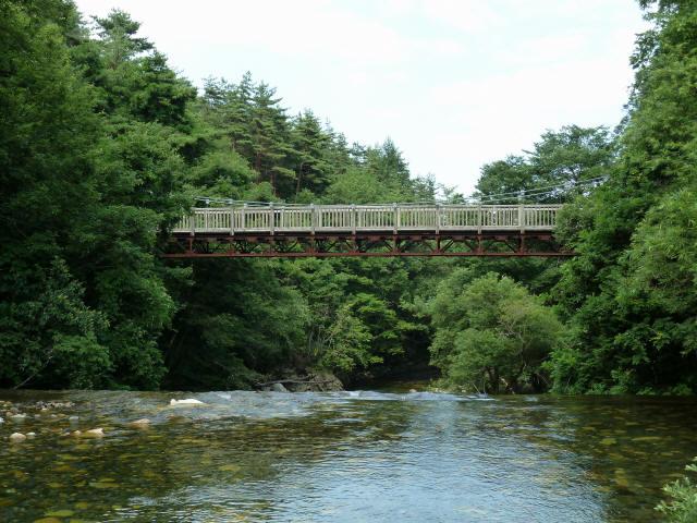 鳥川渓谷橋3