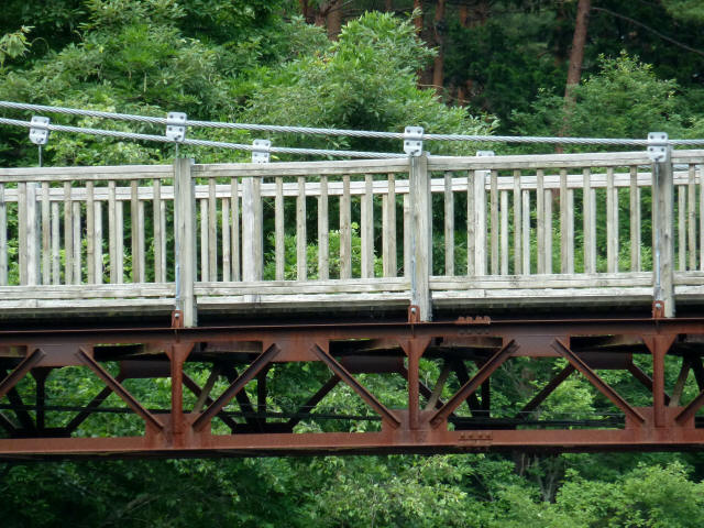 鳥川渓谷橋2