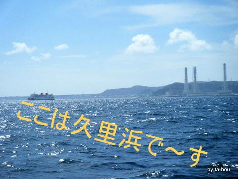 20100807久里浜沖