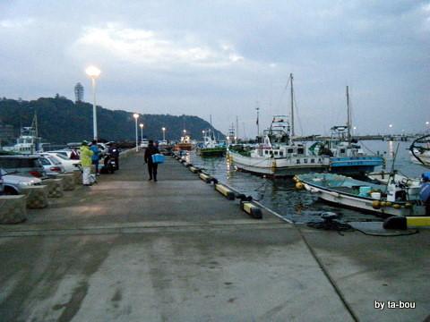 20101126片瀬漁港2
