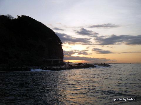 20101230湘南夜明け2