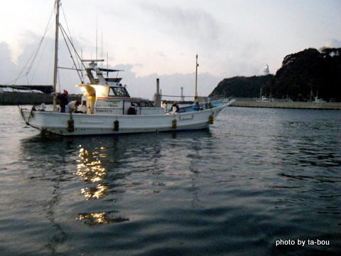 20110116朝の港