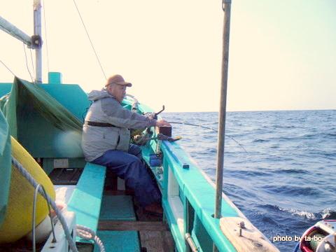 20110430右舷ミヨシ側