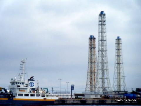 2011/07/23久里浜火力発電