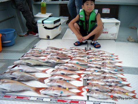 20110822船の釣果