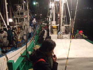 20091227長岡丸出船前
