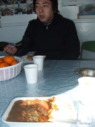 20091227カレーとみのさん