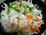 ちゃんぽんの野菜炒め