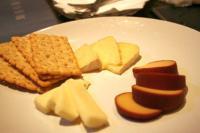 チーズがついてきました。