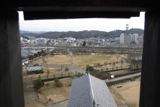 三重櫓からの眺望