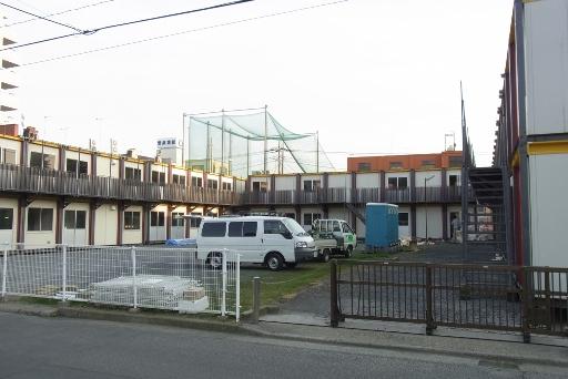 仮設市役所の設置