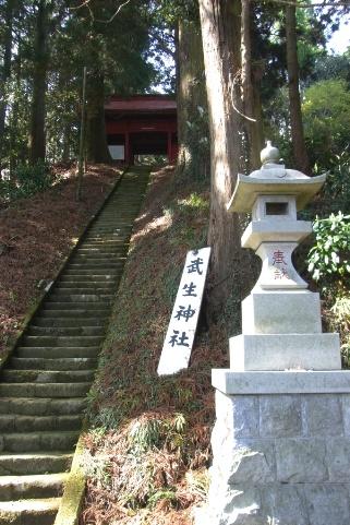 神社参道の階段
