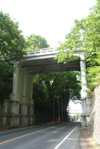 旧国道6号からの大手橋