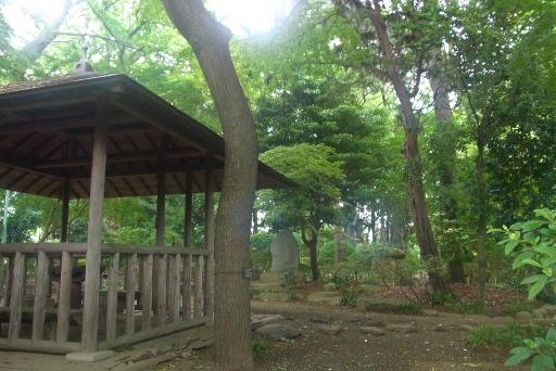 園内の休憩施設