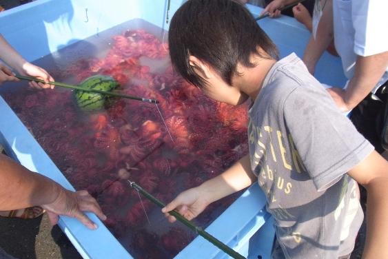 茹で蛸の一本釣り