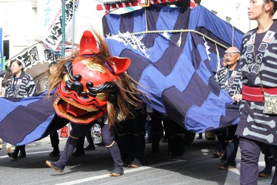 幌獅子の舞