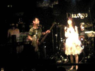 黒木よしひろ率いる「スコール」(松田聖子コピーバンド)in熊本ジャンゴの画像