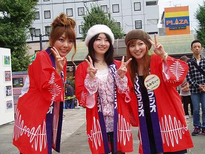 RKKラジオ祭り2010 美女3人組