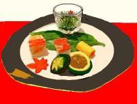 お寿司のアラカルト