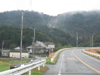 神山への道