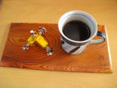 ムクムクさんのコーヒートレイ