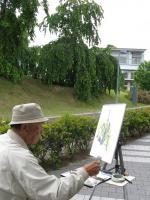 2010 6 8 城西国際大学 水彩風景画 講座 009_R