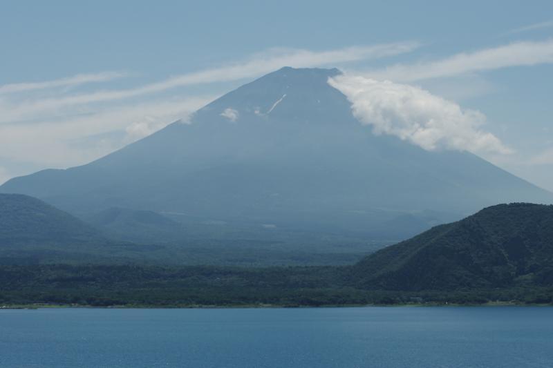 富士山・本栖湖より