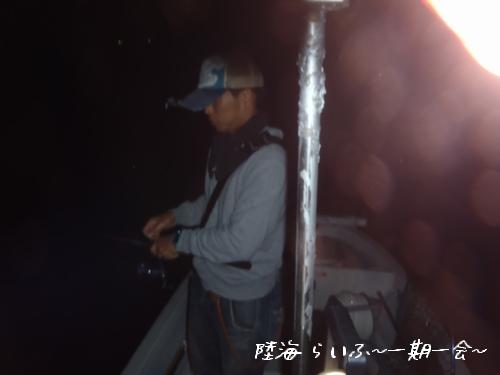 初ボートエギング