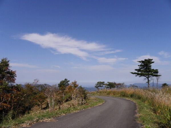 上山高原の空