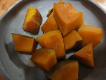 やられた!かぼちゃの煮物