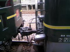 トワイライトエクスプレス機関車交換1782