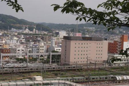 上から見下ろす横須賀線
