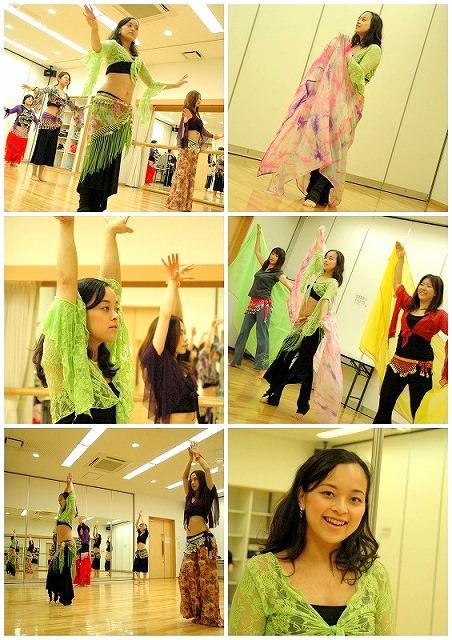 romyベリーダンス教室