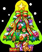 クリスマスツリーチェア