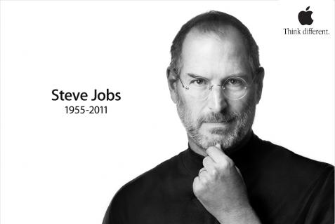 Steve Jobs is Think Diffrent.