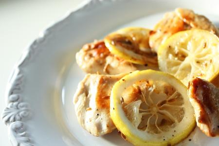 チキンのクミンとレモン風味焼き