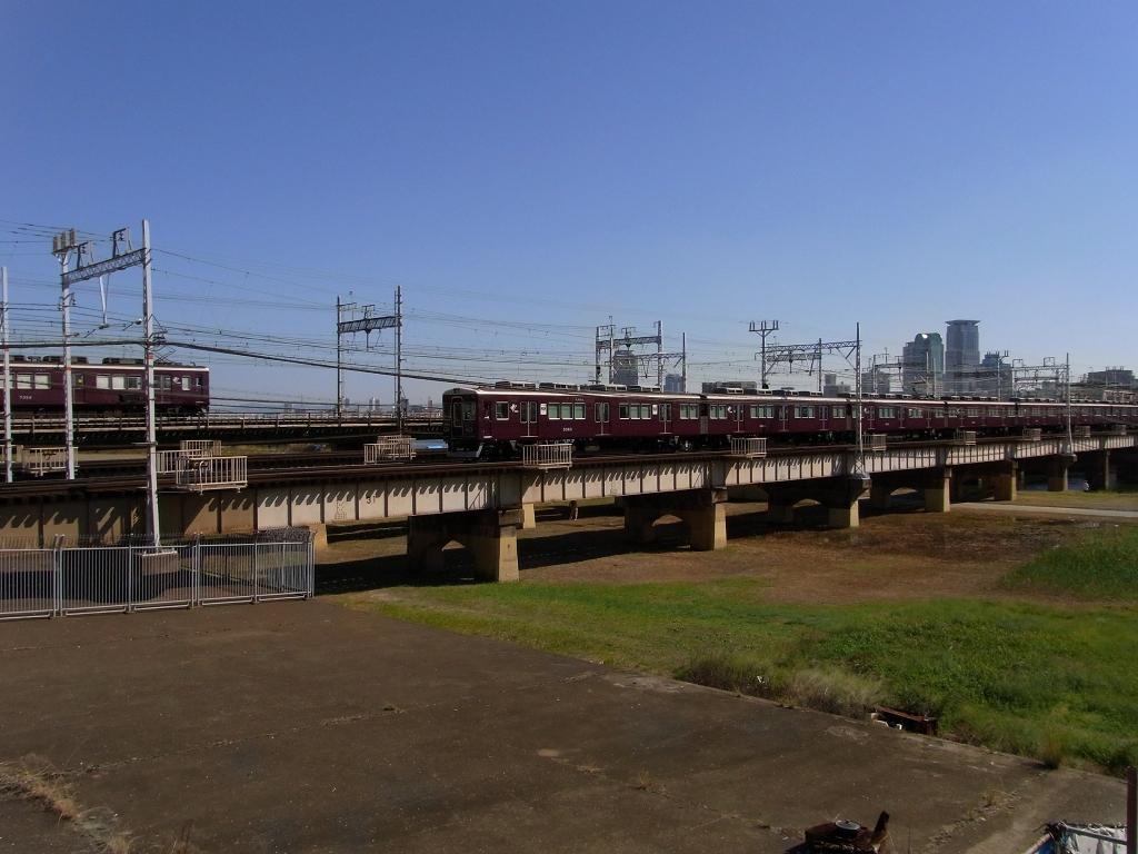 各種阪急線。