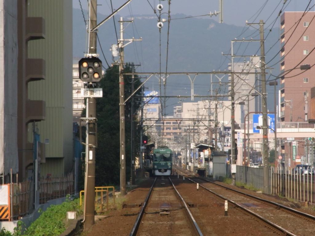 滋賀、大津、京阪鉄道。