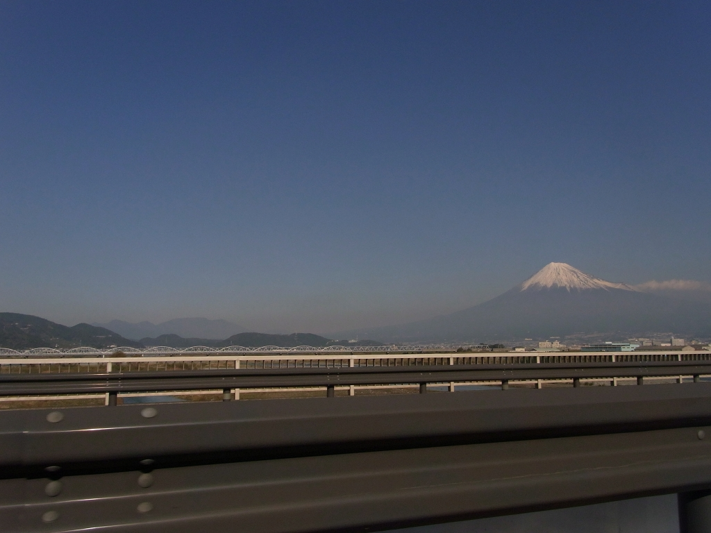 富士川より。