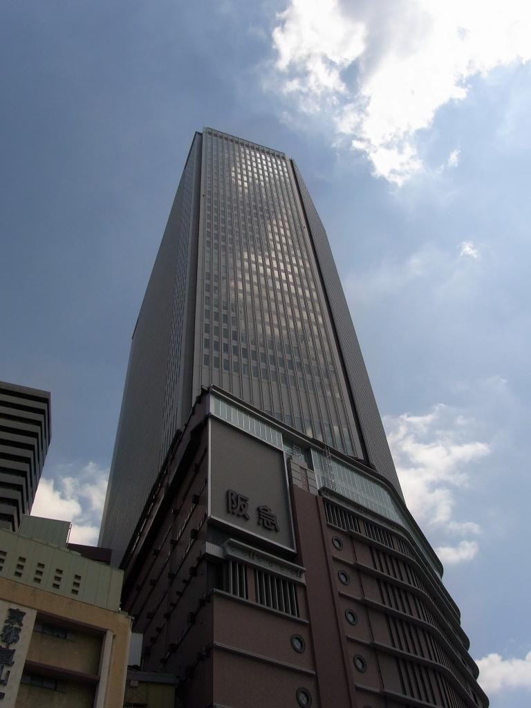 梅田阪急ビル。